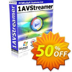 1AVStreamer 優惠券,折扣碼 GLOBAL50PERCENT,促銷代碼: stirring deals code of 1AVStreamer 2021
