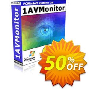 1AVMonitor Coupon discount GLOBAL50PERCENT - big discount code of 1AVMonitor 2020