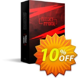 FXSecret Immortal Coupon, discount FXSecret Immortal big offer code 2019. Promotion: big offer code of FXSecret Immortal 2019