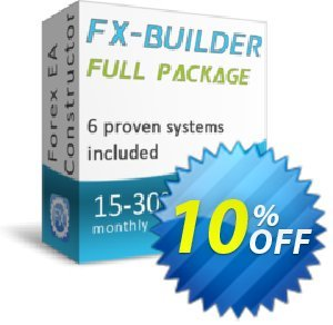 Fx-Builder Coupon, discount Fx-Builder amazing deals code 2019. Promotion: amazing deals code of Fx-Builder 2019