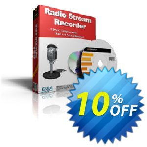 GSA Radio Stream Recorder 프로모션 코드 GSA Radio Stream Recorder imposing sales code 2019 프로모션: imposing sales code of GSA Radio Stream Recorder 2019