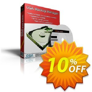 GSA Backup Manager Coupon, discount GSA Backup Manager stirring deals code 2019. Promotion: stirring deals code of GSA Backup Manager 2019
