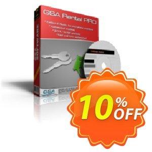 GSA Rental Pro Coupon, discount GSA Rental Pro fearsome promo code 2019. Promotion: fearsome promo code of GSA Rental Pro 2019