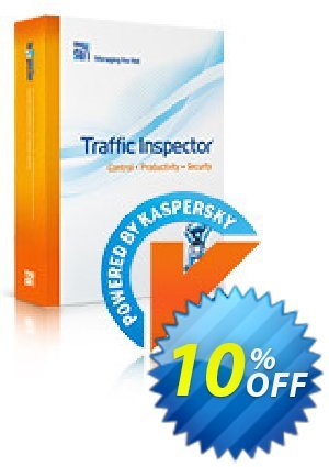 Traffic Inspector + Traffic Inspector Anti-Virus Gold 25 Coupon, discount Traffic Inspector+Traffic Inspector Anti-Virus powered by Kaspersky (1 Year) Gold 25 awful promo code 2019. Promotion: awful promo code of Traffic Inspector+Traffic Inspector Anti-Virus powered by Kaspersky (1 Year) Gold 25 2019