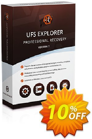 UFS Explorer Professional Recovery for Linux - Commercial License (1 year of updates) Coupon discount UFS Explorer Professional Recovery for Linux - Commercial License (1 year of updates) staggering discount code 2020. Promotion: staggering discount code of UFS Explorer Professional Recovery for Linux - Commercial License (1 year of updates) 2020