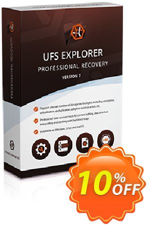 UFS Explorer Professional Recovery for Linux - Corporate License (1 year of updates) Coupon, discount UFS Explorer Professional Recovery for Linux - Corporate License (1 year of updates) special promotions code 2020. Promotion: special promotions code of UFS Explorer Professional Recovery for Linux - Corporate License (1 year of updates) 2020
