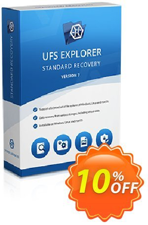 UFS Explorer Standard Recovery for Linux (Corporate License) Coupon discount UFS Explorer Standard Recovery for Linux - Corporate License (1 year of updates) impressive discount code 2019. Promotion: impressive discount code of UFS Explorer Standard Recovery for Linux - Corporate License (1 year of updates) 2019