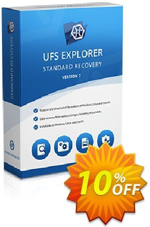 UFS Explorer Standard Recovery for macOS (Corporate License) Coupon, discount UFS Explorer Standard Recovery for macOS - Corporate License (1 year of updates) marvelous promotions code 2020. Promotion: marvelous promotions code of UFS Explorer Standard Recovery for macOS - Corporate License (1 year of updates) 2020