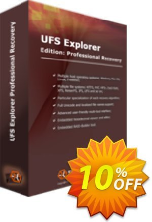 UFS Explorer Professional Recovery (version 5 for Windows) - Personal License Coupon, discount UFS Explorer Professional Recovery (version 5 for Windows) - Personal License amazing deals code 2020. Promotion: amazing deals code of UFS Explorer Professional Recovery (version 5 for Windows) - Personal License 2020