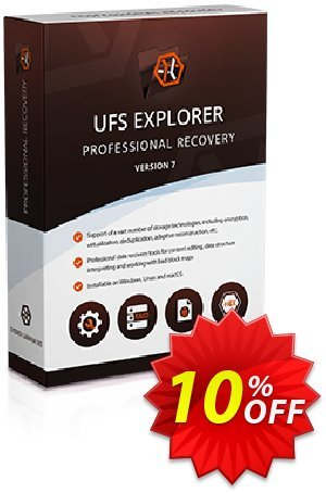 UFS Explorer Professional Recovery (version 5 for Linux) - Business License Coupon discount UFS Explorer Professional Recovery (version 5 for Linux) - Business License stirring discounts code 2020. Promotion: stirring discounts code of UFS Explorer Professional Recovery (version 5 for Linux) - Business License 2020