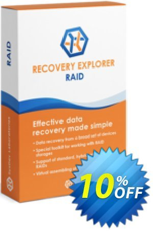 Recovery Explorer RAID (for Linux) - Personal License discount coupon Recovery Explorer RAID (for Linux) - Personal License amazing deals code 2020 - amazing deals code of Recovery Explorer RAID (for Linux) - Personal License 2020