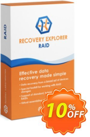 Recovery Explorer RAID (for Mac OS) - Personal License Coupon, discount Recovery Explorer RAID (for Mac OS) - Personal License super offer code 2020. Promotion: super offer code of Recovery Explorer RAID (for Mac OS) - Personal License 2020