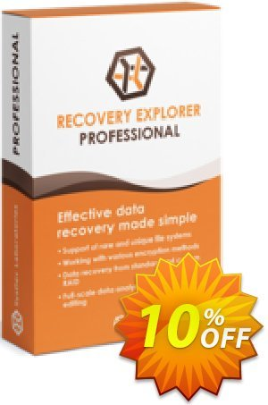Recovery Explorer Professional (for Windows) - Personal License Coupon, discount Recovery Explorer Professional (for Windows) - Personal License special deals code 2020. Promotion: special deals code of Recovery Explorer Professional (for Windows) - Personal License 2020
