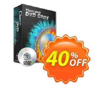CloneDVD DVD Copy 1 year /1 PC Coupon, discount CloneDVD DVD Copy 1 year /1 PC special offer code 2021. Promotion: special offer code of CloneDVD DVD Copy 1 year /1 PC 2021