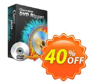 CloneDVD DVD Ripper lifetime/1 PC Coupon discount CloneDVD DVD Ripper lifetime/1 PC awful discounts code 2020. Promotion: awful discounts code of CloneDVD DVD Ripper lifetime/1 PC 2020