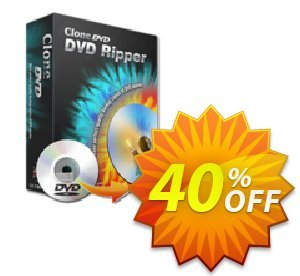 CloneDVD DVD Ripper 3 years/1 PC Coupon, discount CloneDVD DVD Ripper 3 years/1 PC big offer code 2021. Promotion: big offer code of CloneDVD DVD Ripper 3 years/1 PC 2021