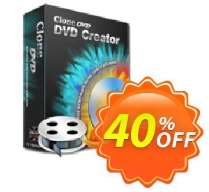CloneDVD DVD Creator 1 year/1 PC Coupon, discount CloneDVD DVD Creator 1 year/1 PC fearsome deals code 2021. Promotion: fearsome deals code of CloneDVD DVD Creator 1 year/1 PC 2021