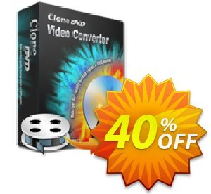 CloneDVD Video Converter lifetime/1 PC Coupon discount CloneDVD Video Converter lifetime/1 PC wonderful offer code 2020 - wonderful offer code of CloneDVD Video Converter lifetime/1 PC 2020