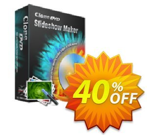CloneDVD Slideshow Maker 1 year/1 PC discount coupon CloneDVD Slideshow Maker 1 year/1 PC impressive deals code 2021 - impressive deals code of CloneDVD Slideshow Maker 1 year/1 PC 2021