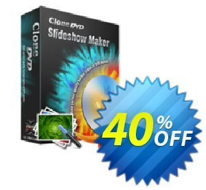CloneDVD Slideshow Maker 2 years/1 PC Coupon, discount CloneDVD Slideshow Maker 2 years/1 PC formidable offer code 2020. Promotion: formidable offer code of CloneDVD Slideshow Maker 2 years/1 PC 2020
