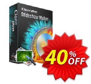 CloneDVD Slideshow Maker 3 years/1 PC Coupon, discount CloneDVD Slideshow Maker 3 years/1 PC fearsome discount code 2020. Promotion: fearsome discount code of CloneDVD Slideshow Maker 3 years/1 PC 2020