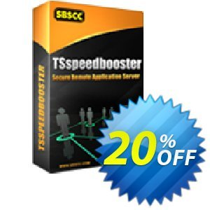 TSspeedbooster - Enterprise Edition (Unlimited Users/Per Server) Coupon, discount TSspeedbooster - Enterprise Edition (Unlimited Users/Per Server) exclusive promotions code 2020. Promotion: exclusive promotions code of TSspeedbooster - Enterprise Edition (Unlimited Users/Per Server) 2020