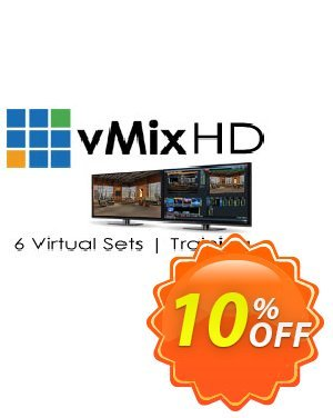 Virtual Set Pack One for vMix discount coupon Virtual Set Pack One for vMix Amazing discount code 2021 - Amazing discount code of Virtual Set Pack One for vMix 2021