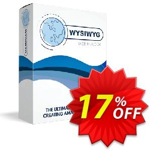 WYSIWYG Web Builder Coupon, discount WYSIWYG Web Builder 15% Discount. Promotion: wonderful promo code of WYSIWYG Web Builder 2020