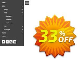 Expandable Panel Menu Extension for WYSIWYG Web Builder Coupon, discount Expandable Panel Menu Extension for WYSIWYG Web Builder big promo code 2019. Promotion: best discount code of Expandable Panel Menu Extension for WYSIWYG Web Builder 2019