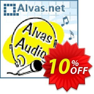 Alvas.Audio Lifetime Team License Coupon, discount Alvas.Audio Lifetime Team License staggering promo code 2020. Promotion: staggering promo code of Alvas.Audio Lifetime Team License 2020