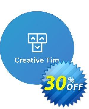 Creative-Tim Big Bundle Discount discount coupon Big Bundle Discount Big discounts code 2020 - exclusive deals code of Big Bundle Discount 2020