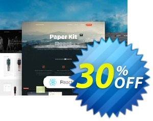 Paper Kit PRO React discount coupon Paper Kit PRO React Dreaded sales code 2020 - awful promo code of Paper Kit PRO React 2020