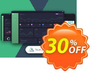 Nuxt Black Dashboard PRO Coupon discount Nuxt Black Dashboard PRO Stunning discounts code 2020. Promotion: fearsome promo code of Nuxt Black Dashboard PRO 2020