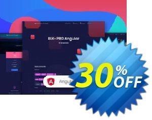 BLK Design System PRO Angular割引コード・BLK Design System PRO Angular Hottest promo code 2020 キャンペーン:Staggering promo code of BLK Design System PRO Angular 2020