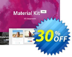 Material Kit PRO (PSD&Sketch) 프로모션 코드 Material Kit PRO (PSD&Sketch) Imposing promo code 2020 프로모션: formidable sales code of Material Kit PRO (PSD&Sketch) 2020