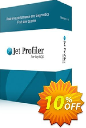 Jet Profiler for MySQL, Enterprise Version Coupon discount Jet Profiler for MySQL, Enterprise Version big offer code 2020. Promotion: big offer code of Jet Profiler for MySQL, Enterprise Version 2020