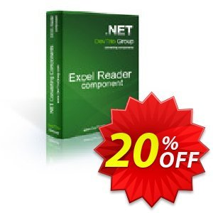 Excel Reader .NET - Developer License Coupon discount Excel Reader .NET - Developer License amazing discount code 2020 - amazing discount code of Excel Reader .NET - Developer License 2020