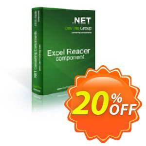 Excel Reader .NET - Update Coupon, discount Excel Reader .NET - Update amazing sales code 2019. Promotion: amazing sales code of Excel Reader .NET - Update 2019