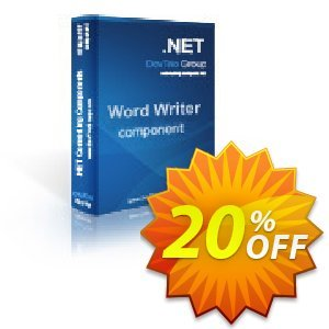 Word Writer .NET - 4 Developer License 프로모션 코드 Word Writer .NET - 4 Developer License awesome offer code 2020 프로모션: awesome offer code of Word Writer .NET - 4 Developer License 2020