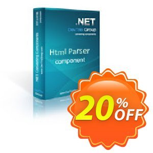 Html Parser .NET - Developer License LITE 優惠券,折扣碼 Html Parser .NET - Developer License LITE stirring deals code 2020,促銷代碼: stirring deals code of Html Parser .NET - Developer License LITE 2020