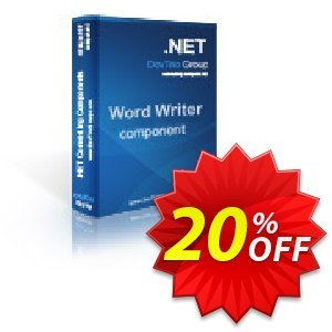 Word Writer .NET - Developer License discount coupon Word Writer .NET - Developer License marvelous sales code 2020 - marvelous sales code of Word Writer .NET - Developer License 2020