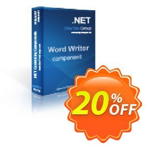 Word Writer .NET - Source Code License discount coupon Word Writer .NET - Source Code License best deals code 2020 - best deals code of Word Writer .NET - Source Code License 2020