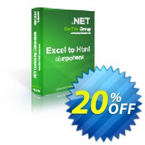 Excel To Html .NET - Update Coupon, discount Excel To Html .NET - Update stirring discounts code 2019. Promotion: stirring discounts code of Excel To Html .NET - Update 2019