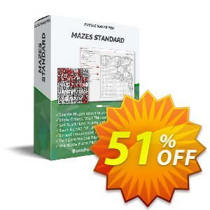 Puzzle Maker Pro - Standard Mazes 2D discount coupon Puzzle Maker Pro - Standard Mazes 2D Hottest offer code 2021 - wonderful promotions code of Puzzle Maker Mazes 2021