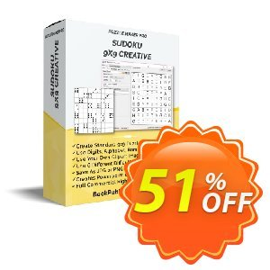 Puzzle Maker Pro - Sudoku 9x9 Creative discount coupon Puzzle Maker Sudoku Pro stirring discount code 2020 - stirring discount code of Puzzle Maker Sudoku Pro 2020