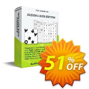Puzzle Maker Pro - Sudoku Kids Edition discount coupon Puzzle Maker Sudoku Kids Edition special discounts code 2020 - special discounts code of Puzzle Maker Sudoku Kids Edition 2020