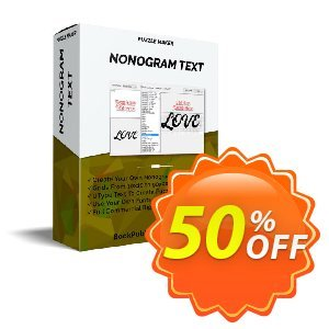 Puzzle Maker - Nonogram Text discount coupon Puzzle Maker - Nonogram Text Best sales code 2020 - Best sales code of Puzzle Maker - Nonogram Text 2020