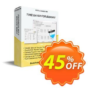 Puzzle Maker Pro - Time Saver for Sudoku discount coupon Puzzle Maker Pro - Time Saver for Sudoku Big discounts code 2020 - Big discounts code of Puzzle Maker Pro - Time Saver for Sudoku 2020