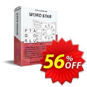 Puzzle Maker Pro - Word Star discount coupon Puzzle Maker Pro - Word Star Hottest promotions code 2020 - Hottest promotions code of Puzzle Maker Pro - Word Star 2020