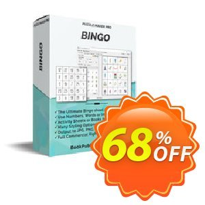 Puzzle Maker Pro - Bingo discount coupon Puzzle Maker Pro - Bingo Stirring deals code 2020 - Stirring deals code of Puzzle Maker Pro - Bingo 2020